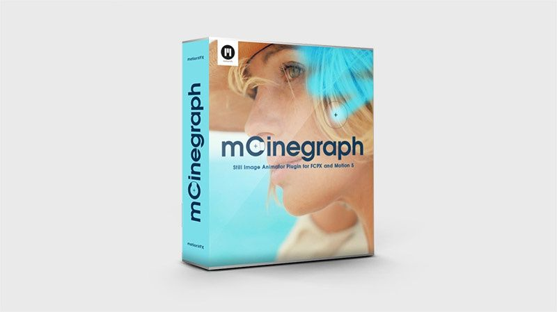 Demo version of mCinegraph plugin for FCPX and Apple