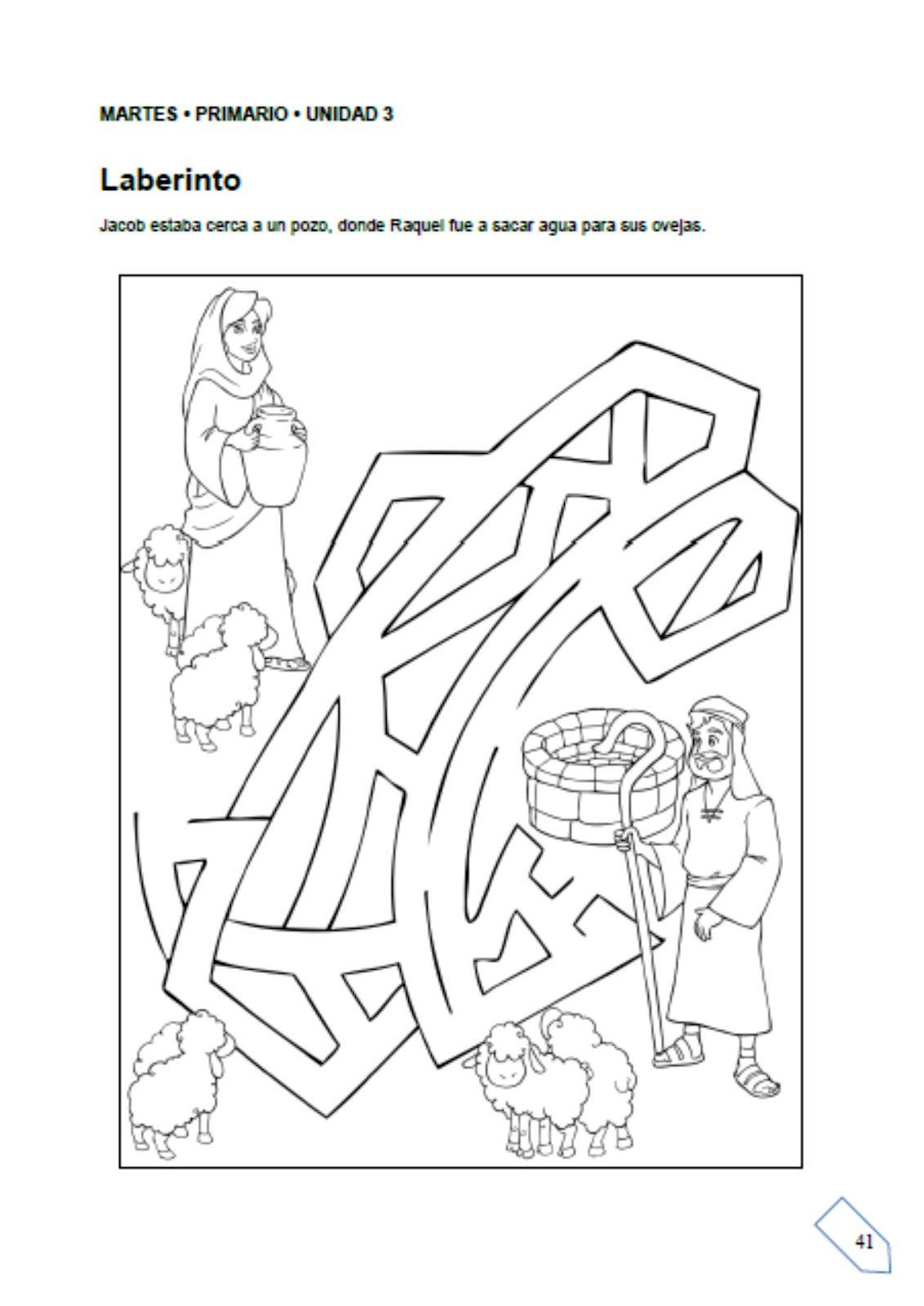 Dibujos De Esaú y Jacob Para Colorear | la primogenitura | Pinterest ...