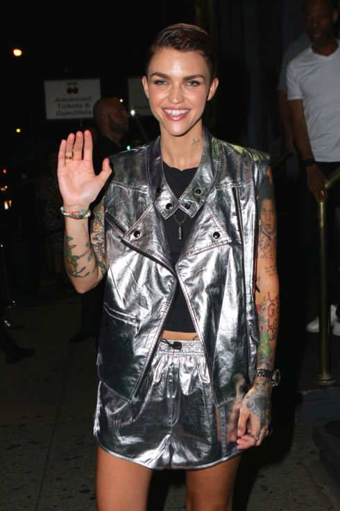 Celebrity Sightings In New York - July 04, 2015