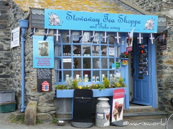Doc Martin S Tea Shop Port Isaac Cornwall Marisworld