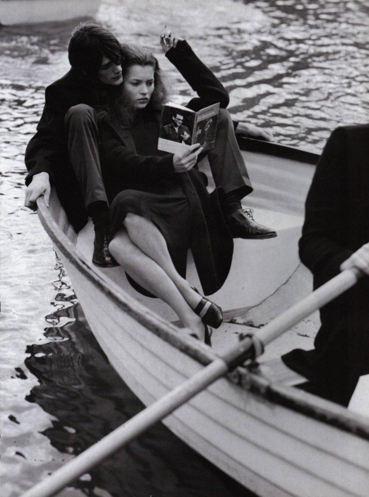 kate moss by bruce weber for vogue italia, 10/96