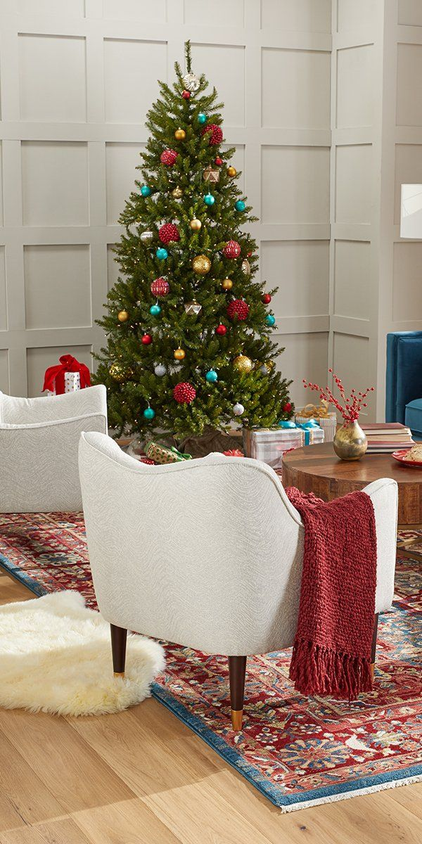 Make the season even brighter with a fresh and festive Christmas tree from Overstock's holiday shop, where you'll find excellent deals on quality holiday home goods along with Free Shipping on EVERYTHING!* Don't let the merry season pass you by, get your home holiday-ready with help from Overstock's massive holiday decor collection. #Christmastree #homedecor #holiday #overstock