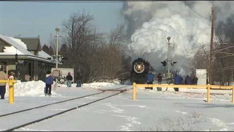 Minus 5 Degrees Makes For A Great Steam Show!