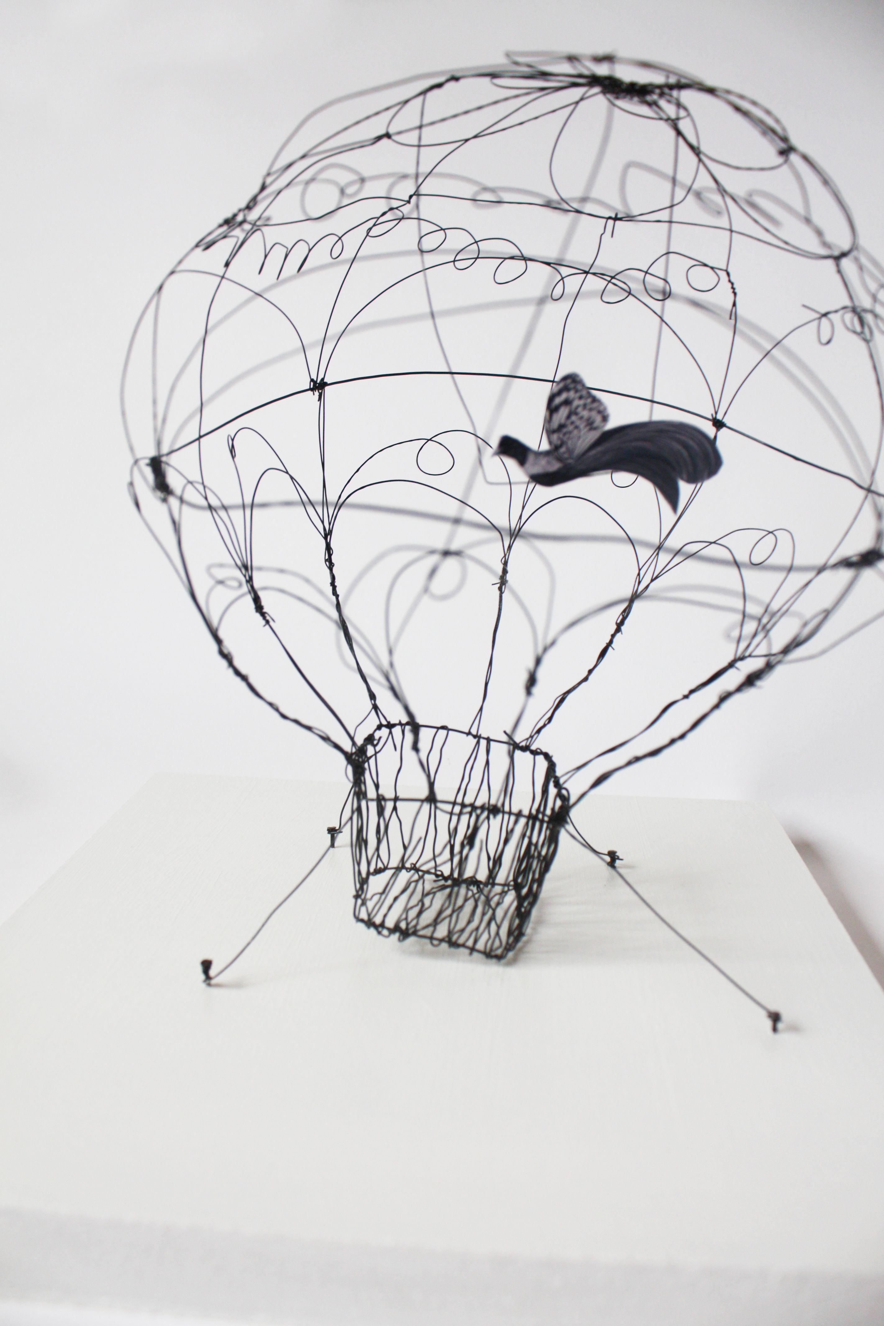 Sculpture fil de fer Au fil d\'un Trait | Créa créa créations ...