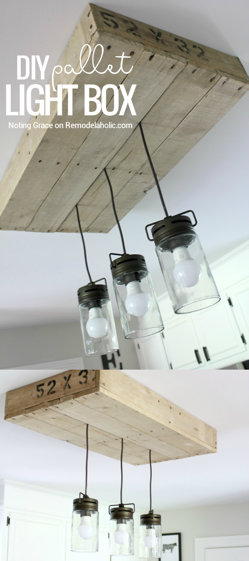 Give Your Kitchen Lighting Some Rustic Style With This