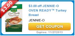 $3.00 off JENNIE-O OVEN READY™ Turkey Breast