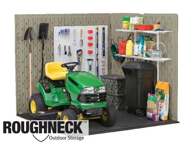 rubbermaid roughneck extra large storage shed x