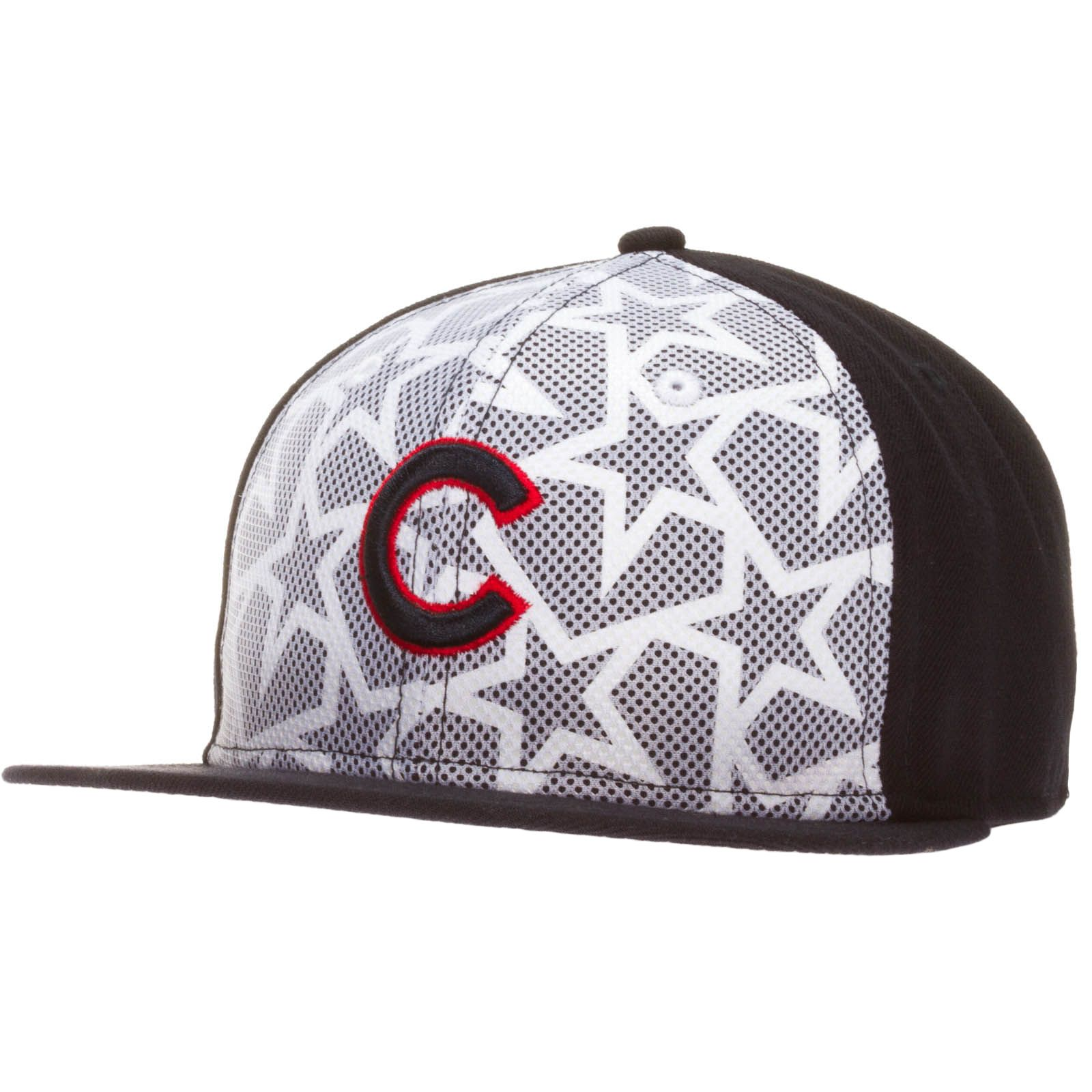 d8ddbe7e3e9 Chicago Cubs Navy and White 2016 On-Field Fourth of July Flat Bill Fitted  Hat by New Era  Chicago  Cubs  ChicagoCubs