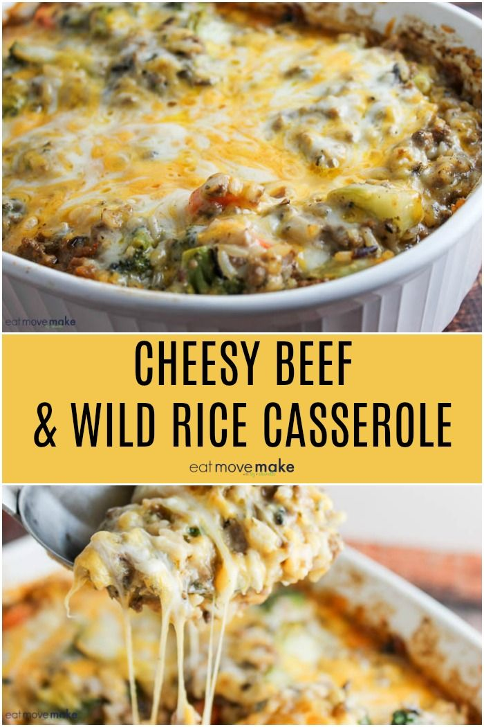 A Deliciously Comforting And Cheesy Ground Beef And Wild Rice Casserole Recipe The Perfect Ma Beef Casserole Recipes Rice Casserole Recipes Wild Rice Recipes