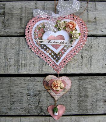 piabau: Hjerteform-En lille hilsen-