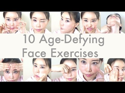 (27) 10 Age-Defying Face Exercises | Comment if you want instructions! - YouTube