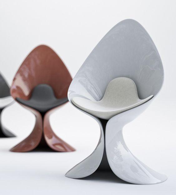 Beau Modern Futuristic Chair 75