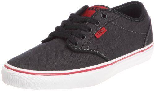 vans 8 5. vans mens atwood textile shoes black chilli size 8.5 - http://buyonlinemakeup. vans 8 5