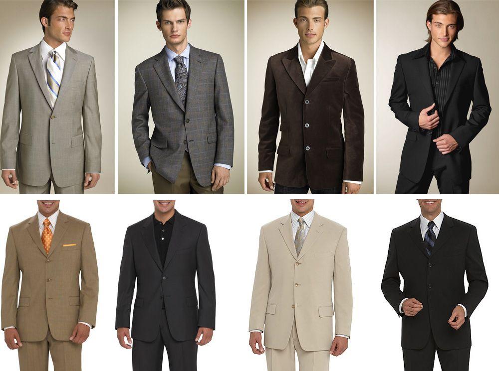 Groomsmen Suit Color Options