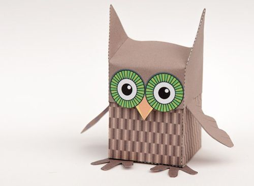 My Owl Barn Printable Owl Box Crafts for Littles Pinterest