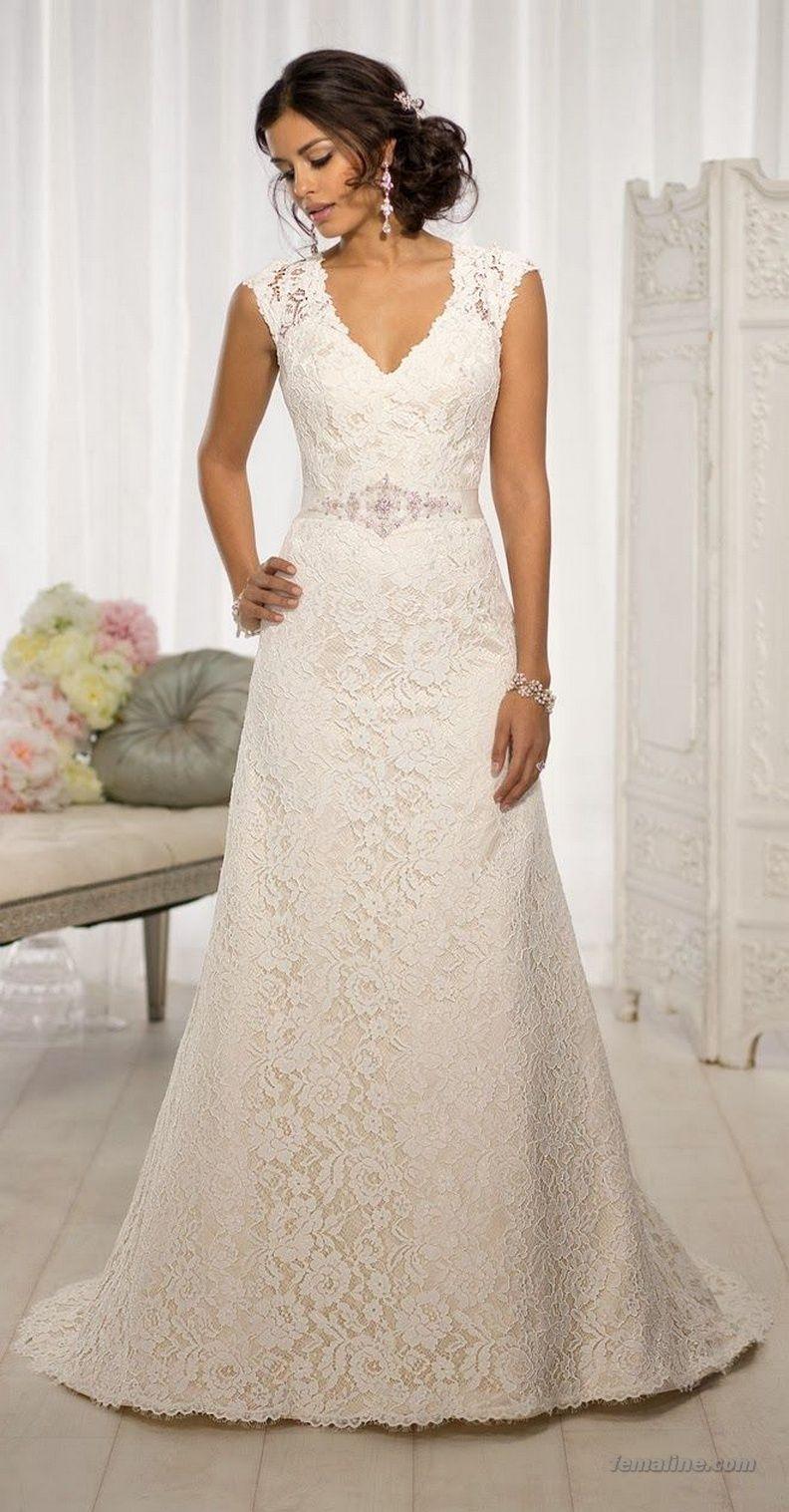 139 Ideas for Fall 2017 Wedding Dress Trends   Brautkleider und Hochzeit