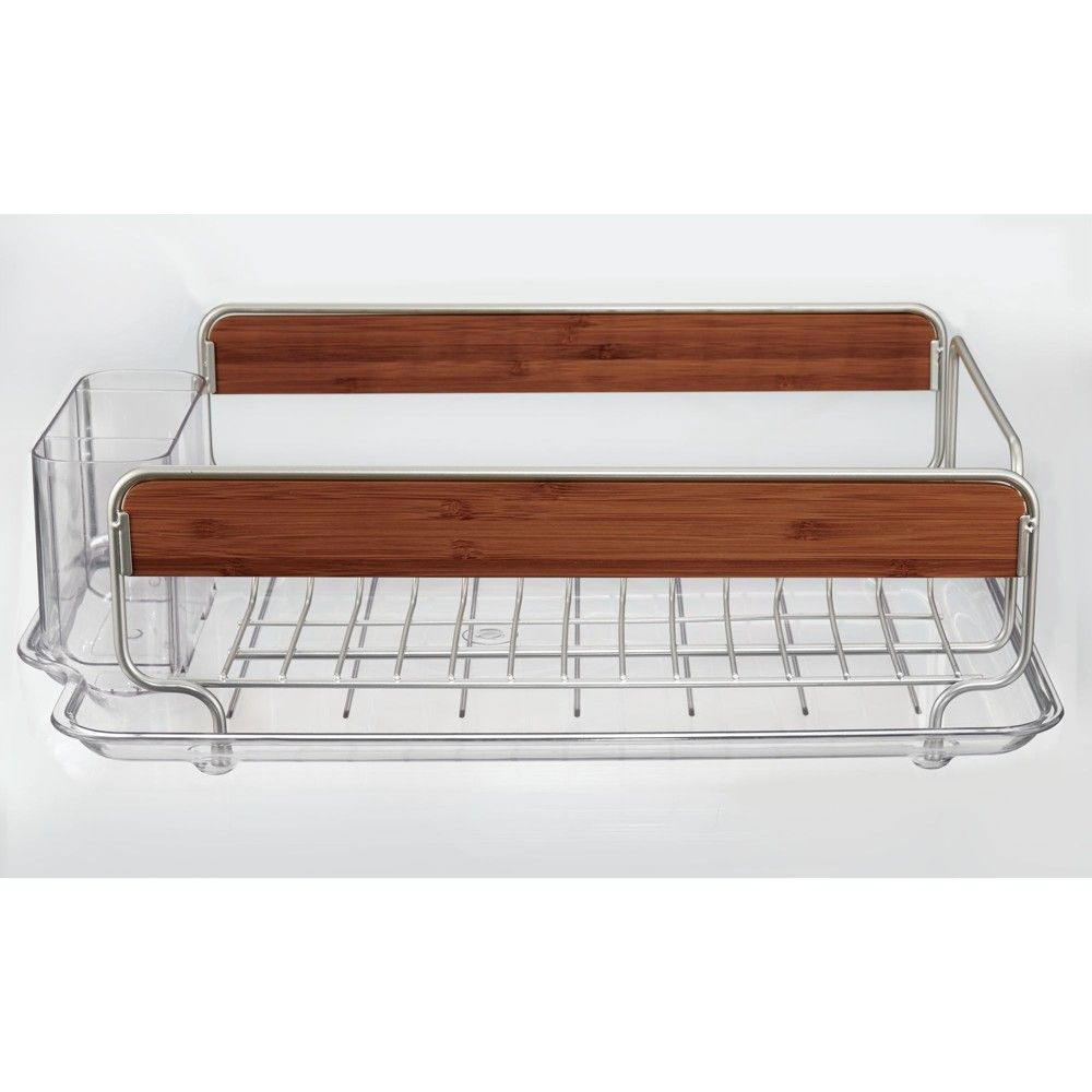 4f4c578a972c InterDesign Over The Sink Dish Drainer Silver | Products | Dish ...