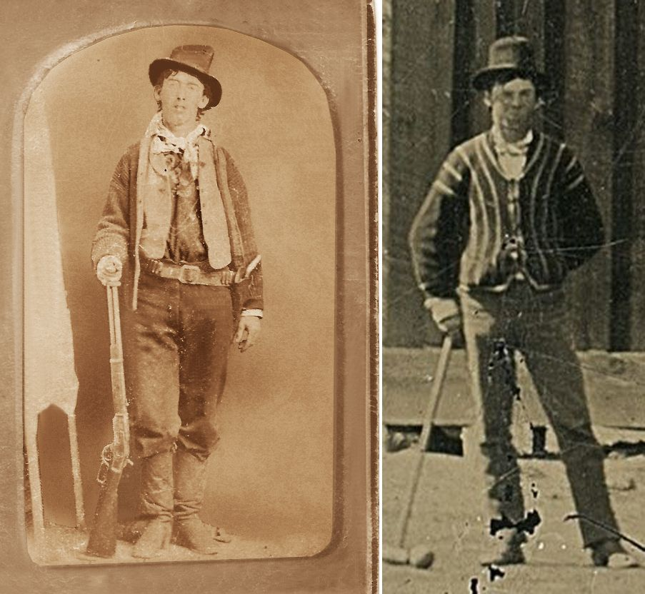 Billy The Kid Aka William H Bonney The Only Two Authentic
