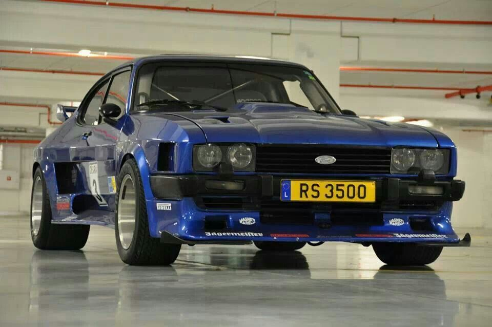 Mercury Capri Wide Body Kit Really Helps The Look Of This
