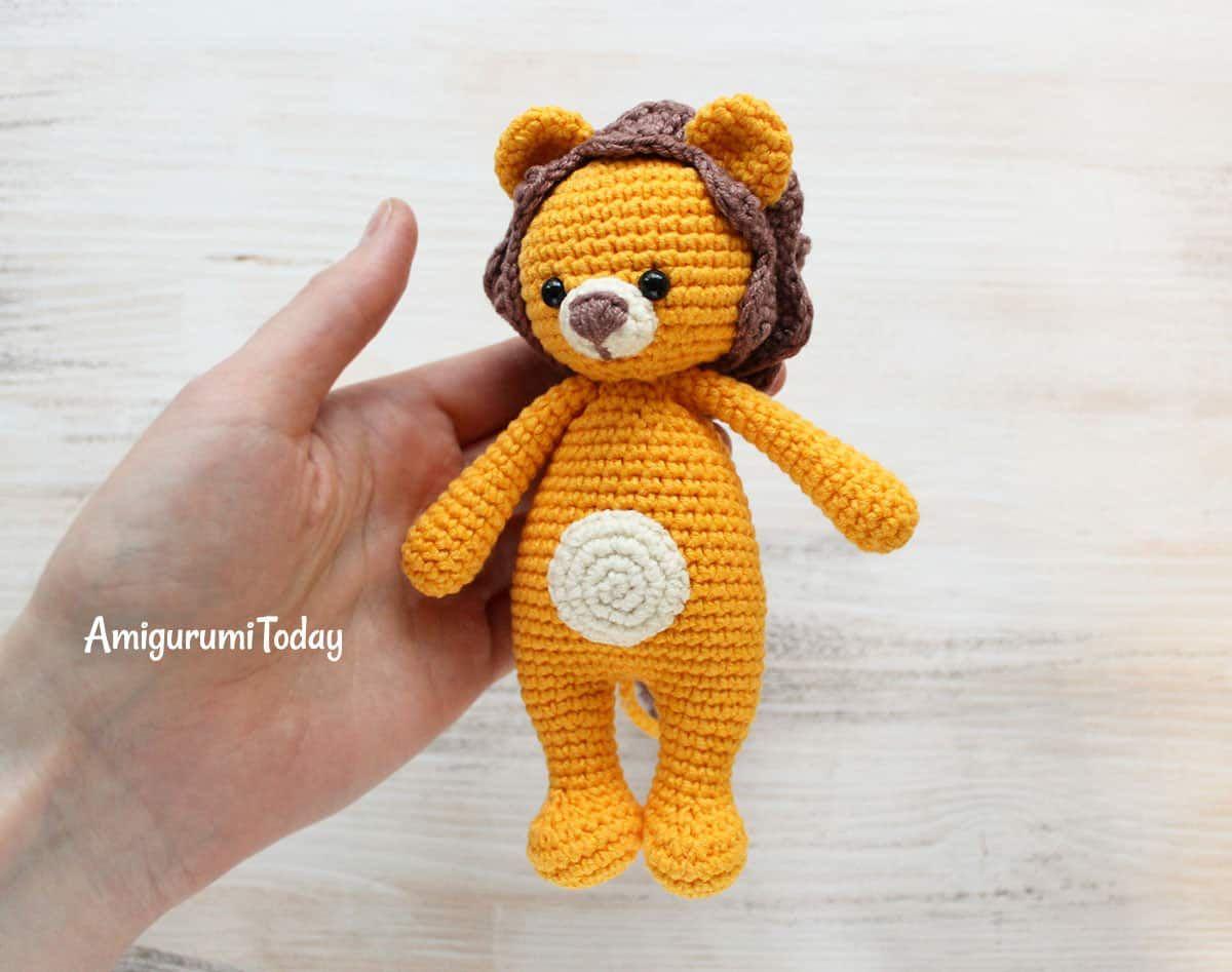 Kuschel mich Löwe-Häkelanleitung | Baby | Pinterest | Kuscheln ...
