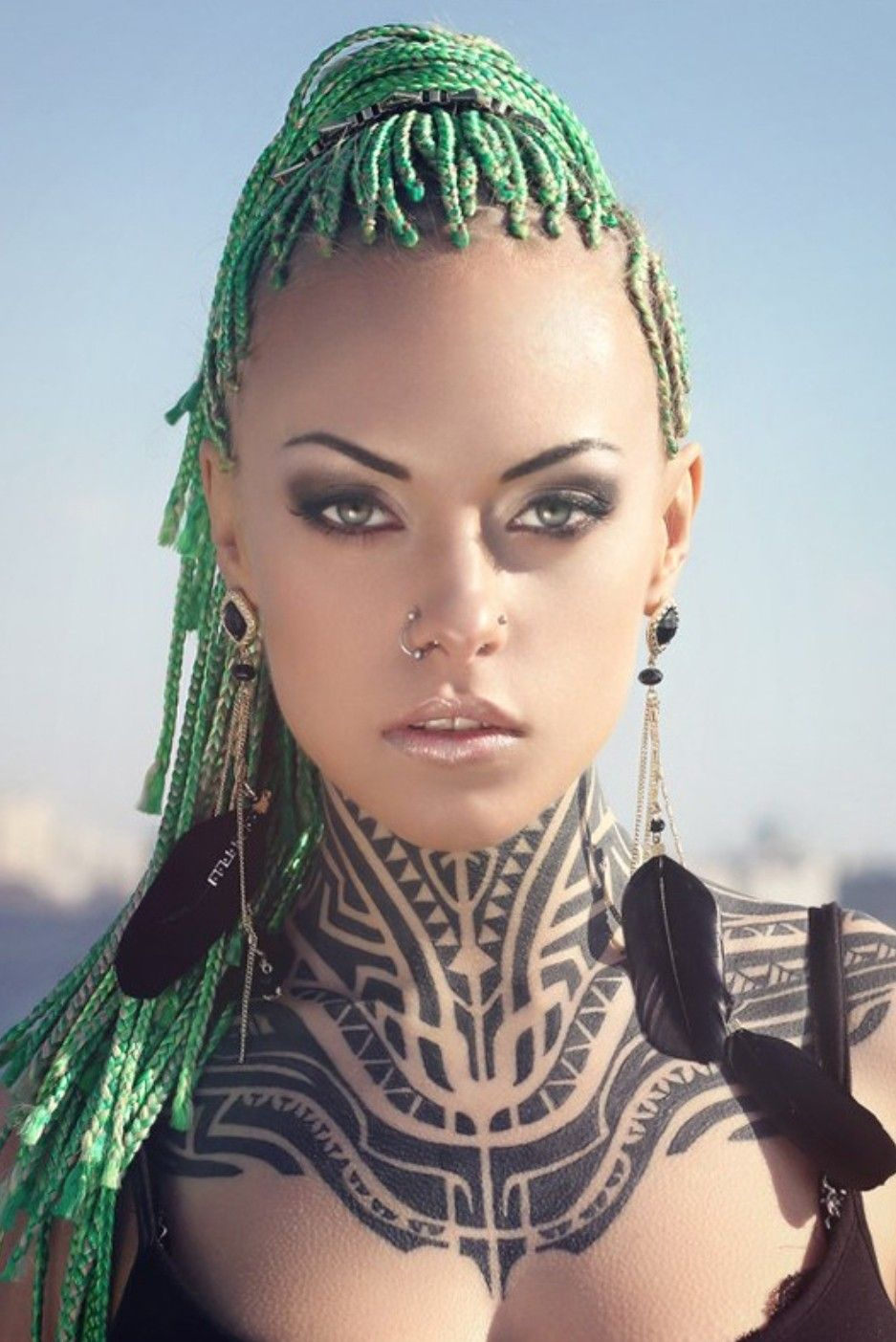 Sexy aztec girl