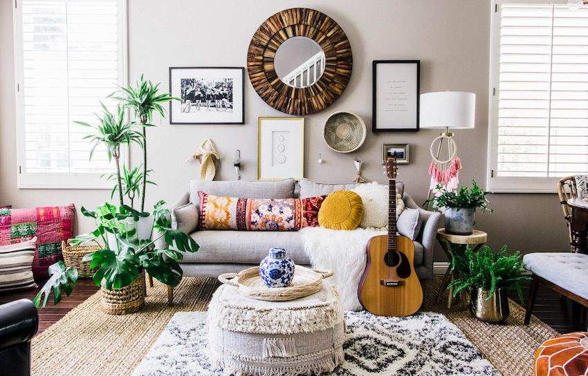 Images Of Boho Style Living Rooms