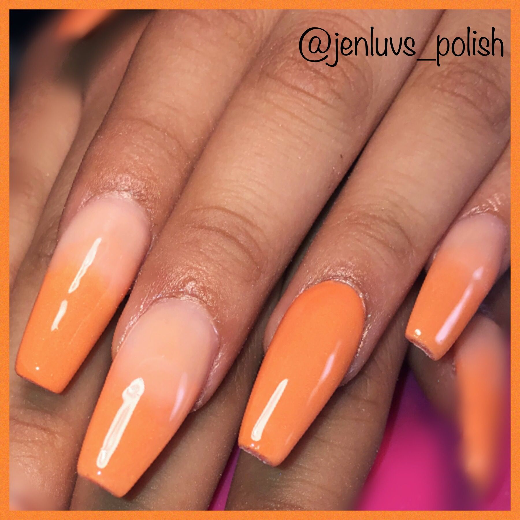 43 of the Best Orange Nail Art Ideas and Designs   Page 2