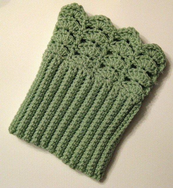 Belmont Boot Toppers Free Crochet Pattern Crochet Pinterest