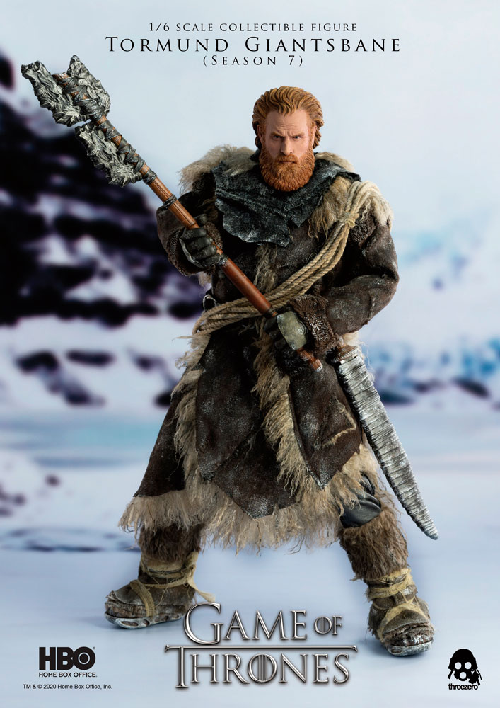 Tormund Giantsbane Sixth Scale Figure By Threezero Sideshow Collectibles Viking Character Figures Kristofer Hivju