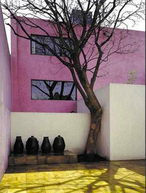Gilardi House, Barragan Foundation. Luis Barragan.