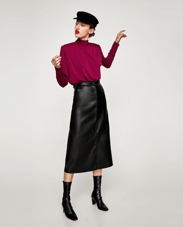 4781efe75 El caso de la falda del largo perfecto (casi) agotada en Zara ...