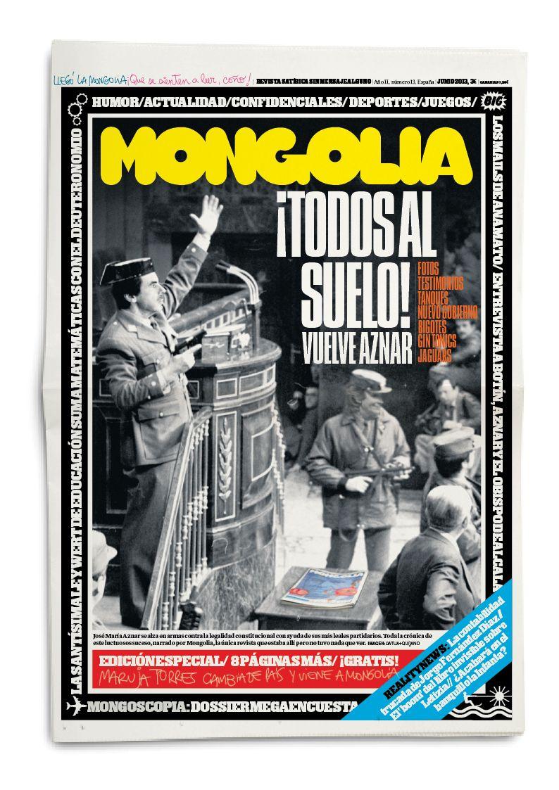 Revista Mongolia - junio 2013 http://www.veniracuento.com/