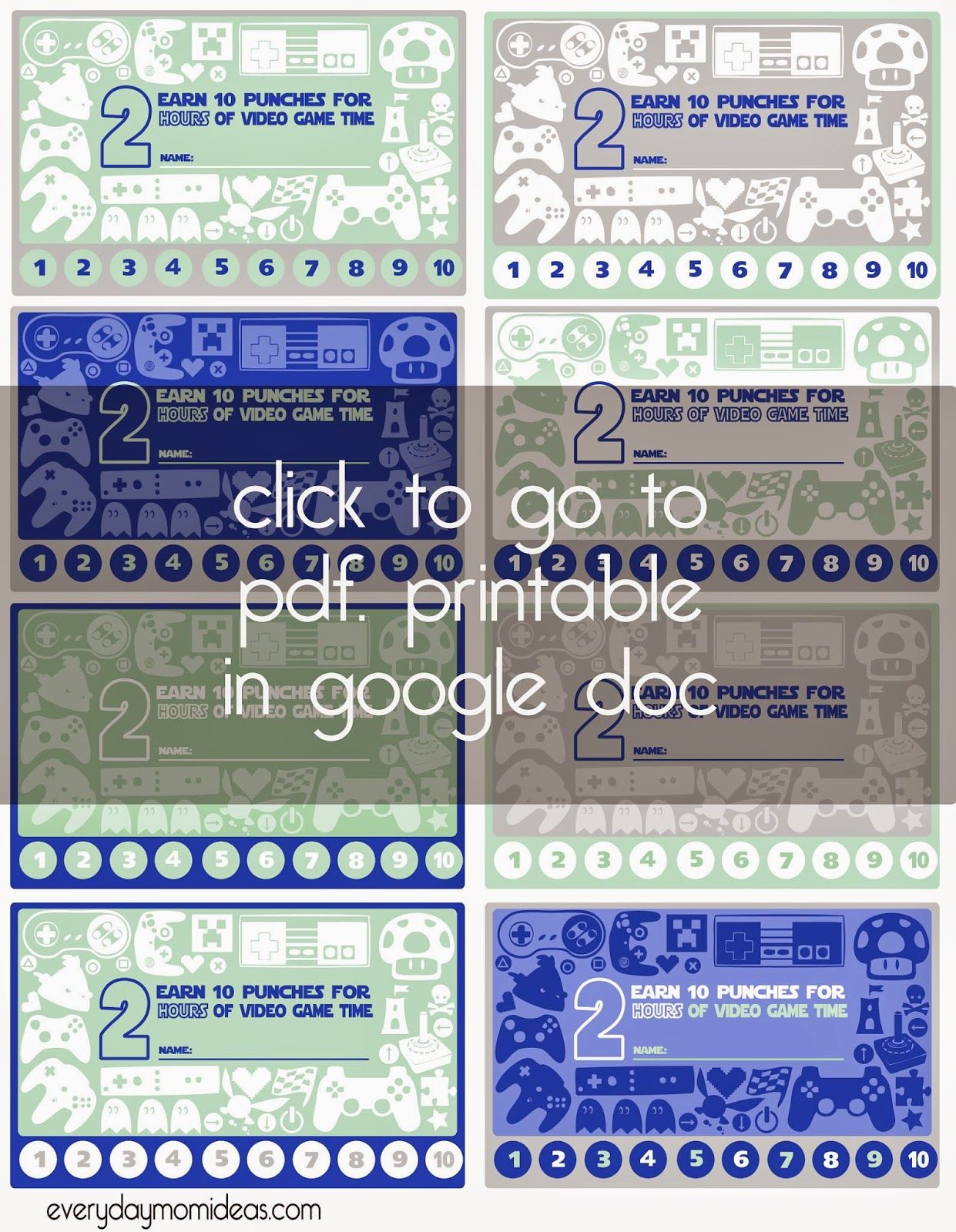 The Enchanting Dickerson Diaries Lucas 39 Carnival Party A Pocket Full Of Inside Free Printable P Free Printable Card Templates Punch Cards Card Templates Free
