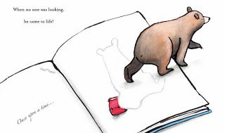 From: OTTO THE BOOK BEAR by Kate Cleminson.