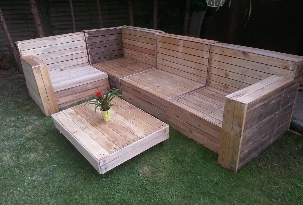 outdoor furniture made from wooden pallets - Garden Furniture Wooden Pallets