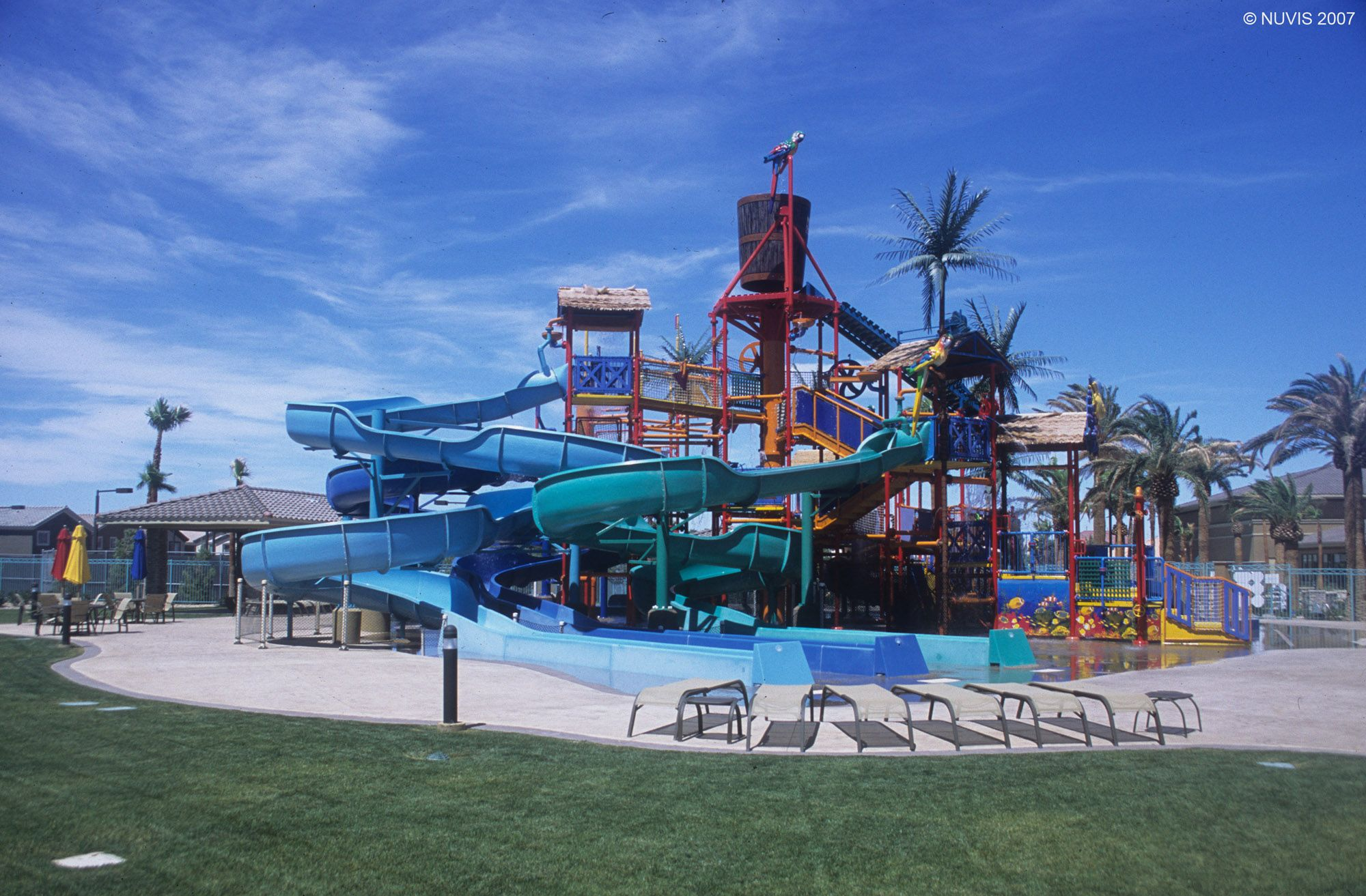 Water Park At Rhodes Recreation Center By Rhodes Homes In