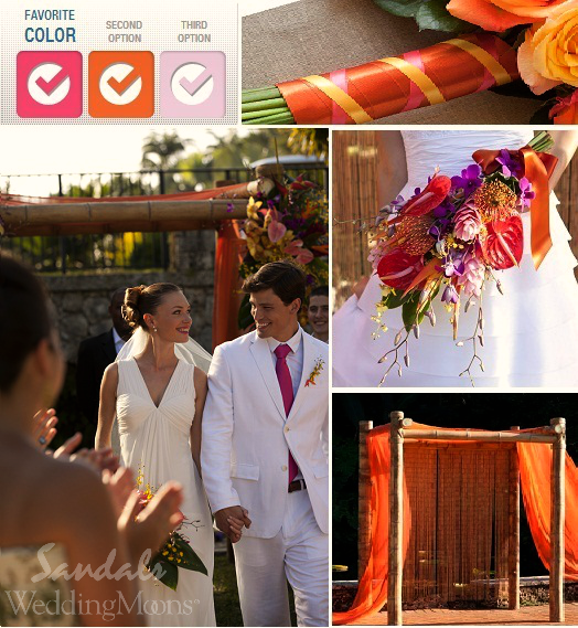 Gorgeous Fall Inspired Wedding Palette Using The Sandals Designer