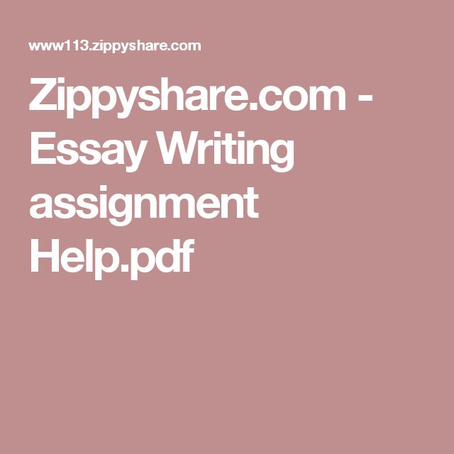 zippyshare com essay writing assignment help pdf pdf zippyshare com essay writing assignment help pdf