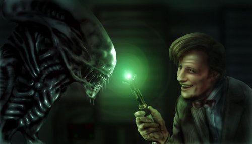 Roblox Alien Xenomorph Doctor Meets Xenomorph Doctor Who Art Doctor Who Aliens Movie