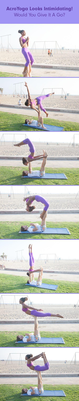 51 Ideas De Acrobacias Acrobacias Yoga En Parejas Yoga En Pareja