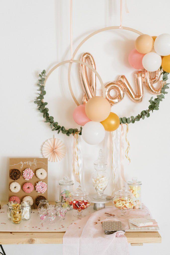 Photo of DIY: Boho Ballon-Reifen-Dekoration zum Aufhängen – Fräulein K. Sagt Ja Hochzeitsblog
