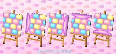 Pastel Path Animal Crossing New Leaf Qr Codes Animal Crossing