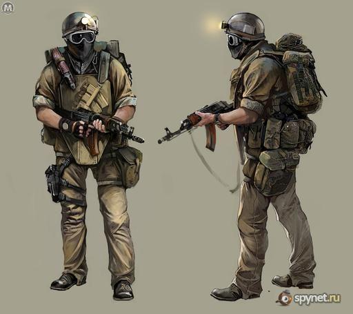 Apocalyptic Soldier Pics: Post Apocalyptic Art, Metro 2033