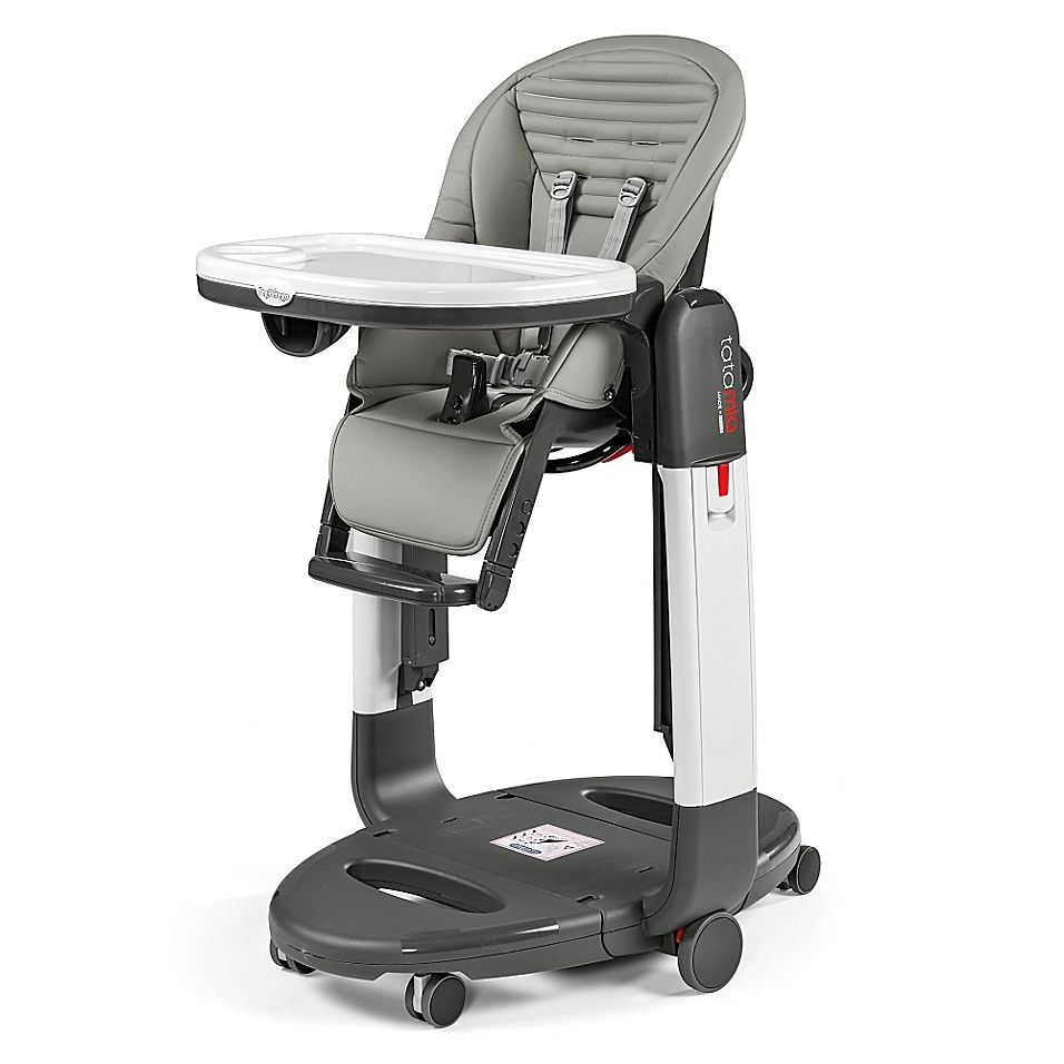 Peg Perego Tatamia High Chair In Grey Stripes With Images Peg