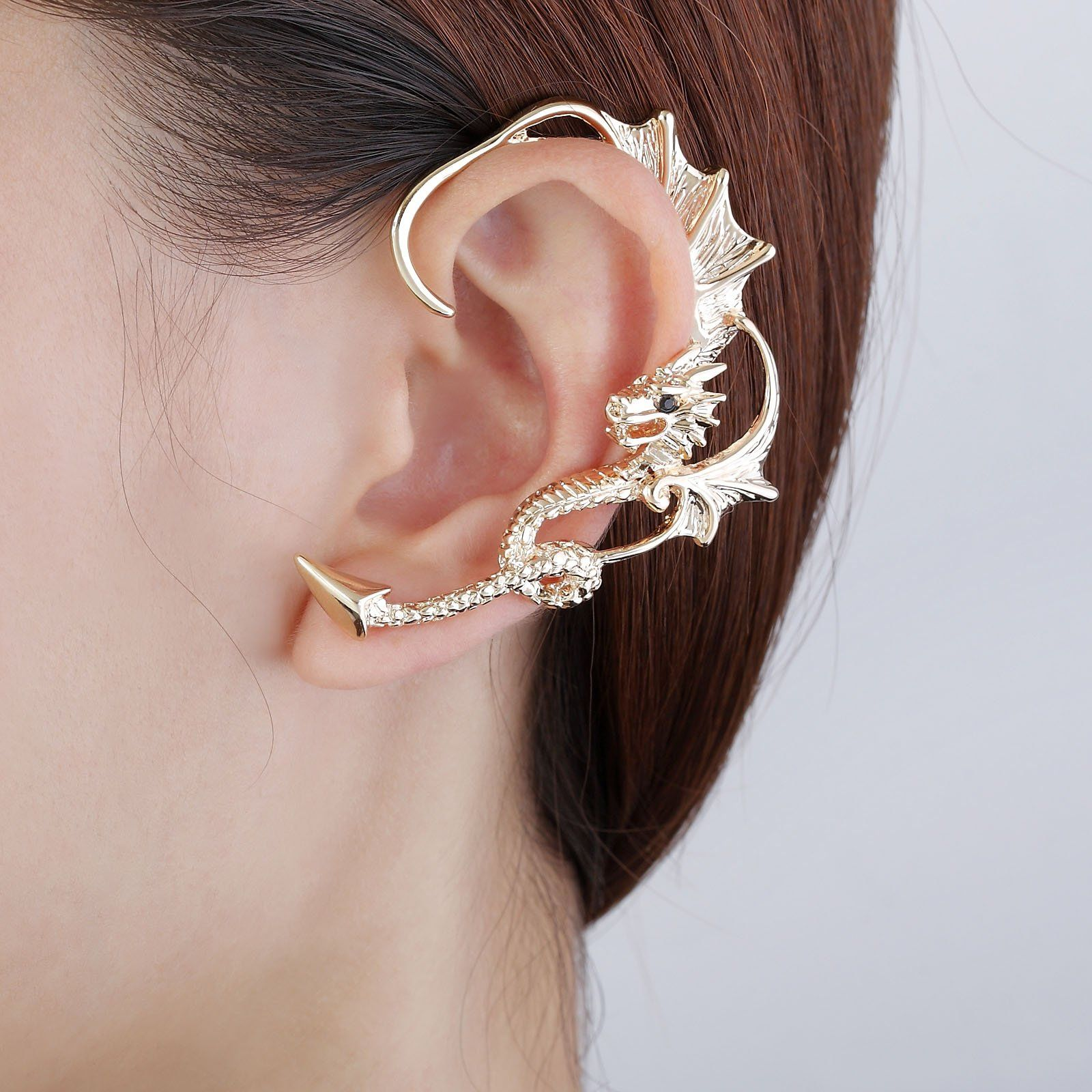 product wrap image earring earrings single snake cuff ear cheekydoodah unit products