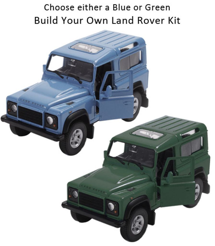 Build Your Own Land Rover Kit Christmas Pressies Pinterest