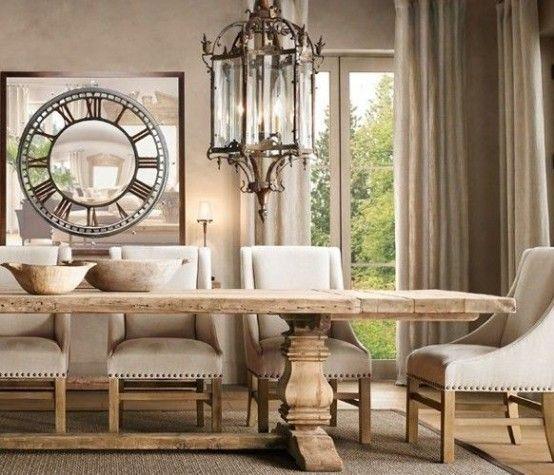 Sala da pranzo provenzale: 29 idee stile provenzale | Shabby chic ...