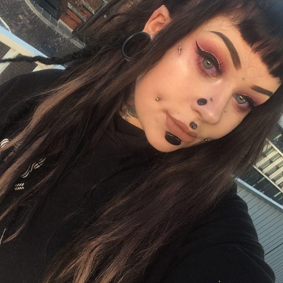 Pin by huge on Plugs  Pinterest  Leaves Piercings and Scene girls