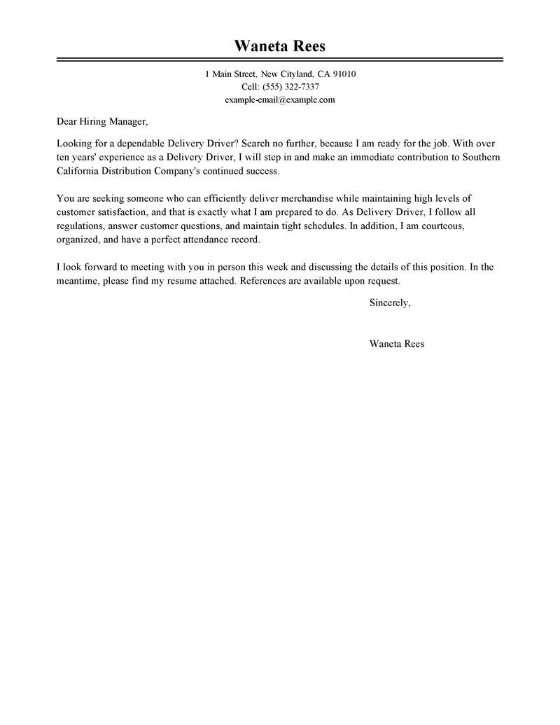 Sample Cover Letter For Customer Service Manager Position Resume