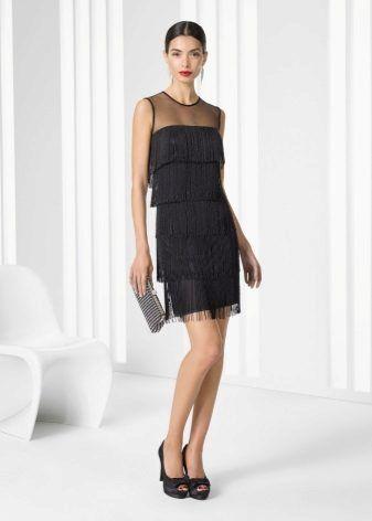 a3a07af229f Коктейльное платье с бахромой в стиле Шанель | Одежда в 2019 г ...